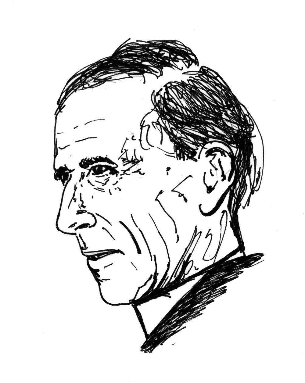 Teilhard de Chardin - grafika